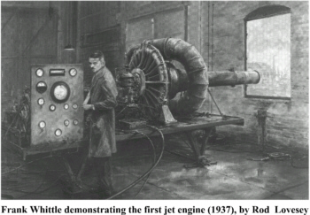 Image result for Jet engine 1937