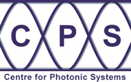 Centre for Photonics Systems logo